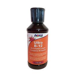 NOW Foods NOW Foods - Ultra B-12 Liquid (118ml)