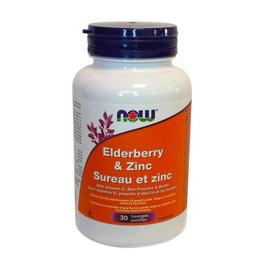 NOW Foods NOW Foods - Elderberry & Zinc Lozenges (30)