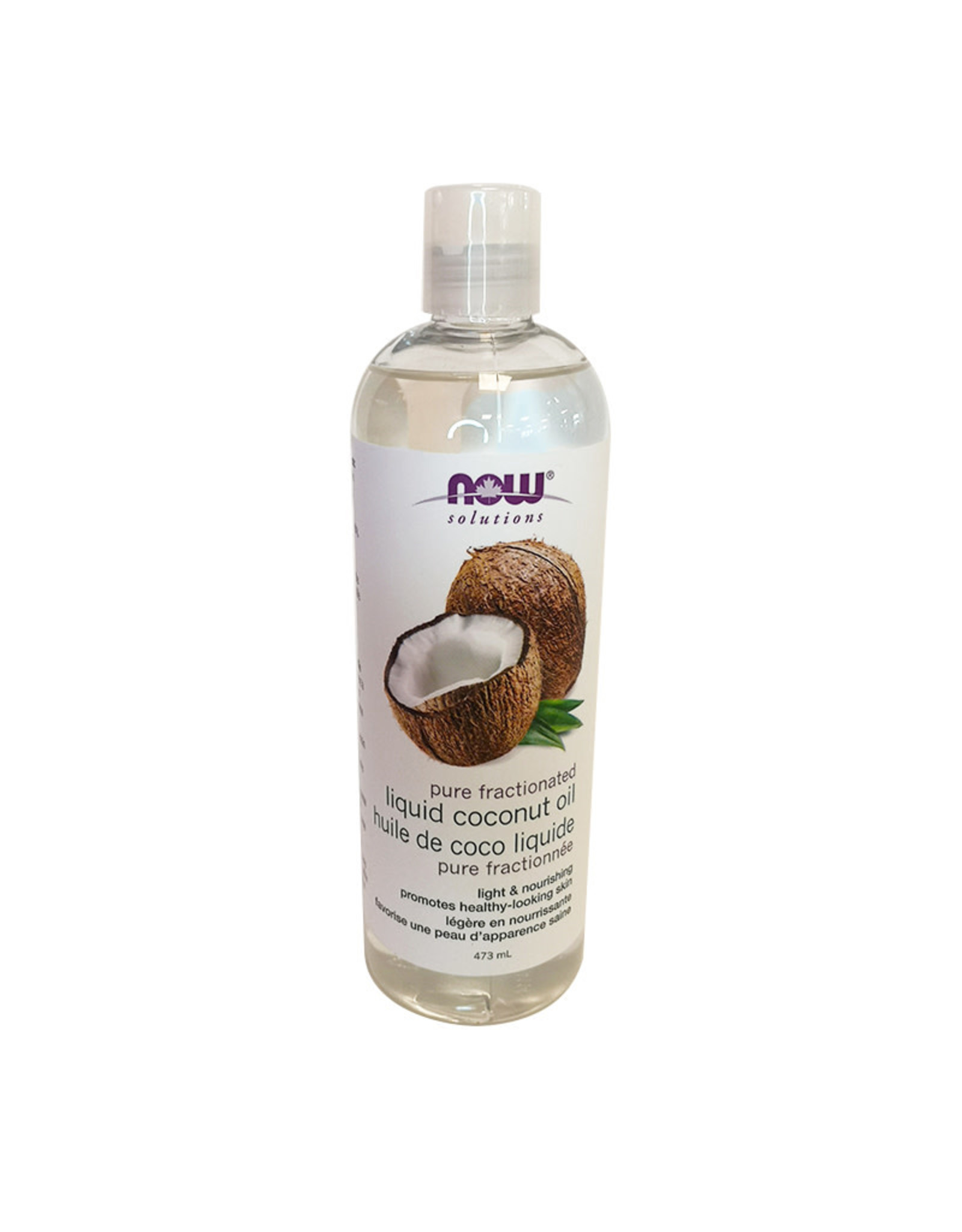 Now Solutions NOW Solutions - Fractionated Liquid Coconut Oil (473ml)