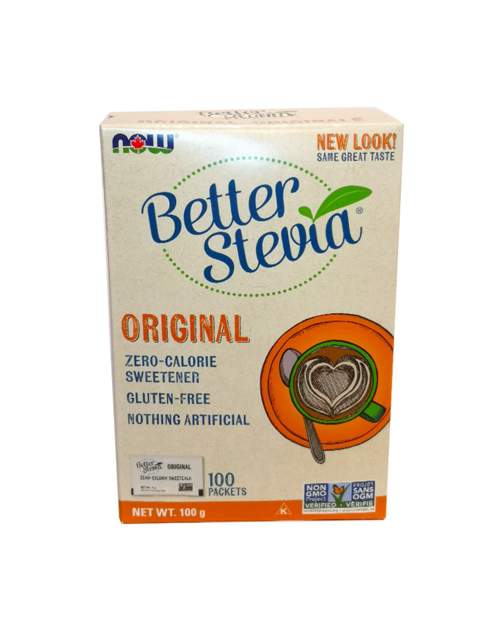 NOW Foods NOW Foods - Better Stevia Extract Packets (100pk)