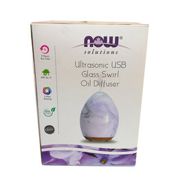 NOW Foods NOW Foods - Diffuser - USB Glass Swirl