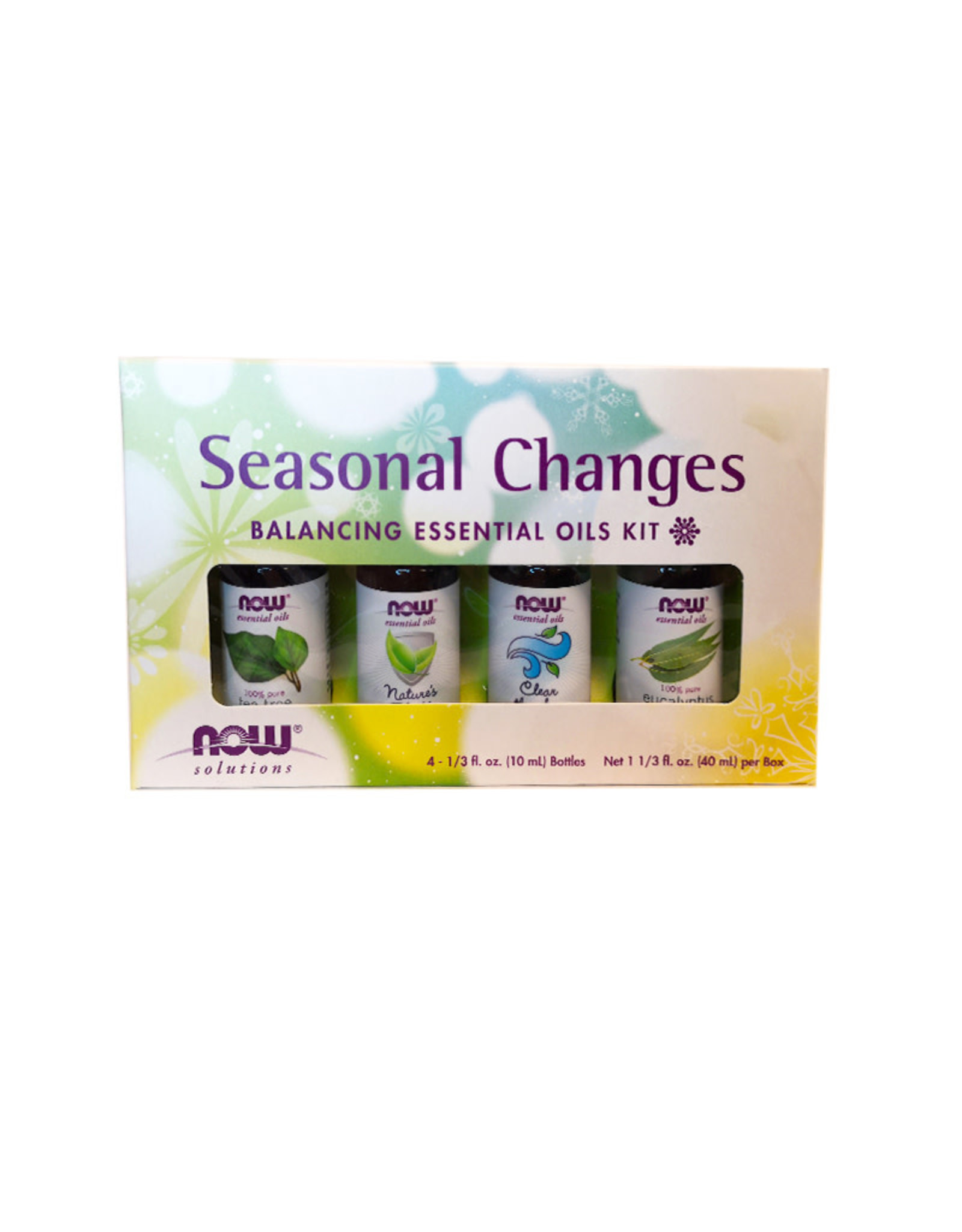 NOW Foods NOW Foods - EO Kit, Seasonal Changes (4*10ml)