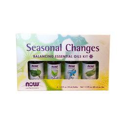 NOW Foods NOW Foods - EO Kit, Seasonal Changes (4*10ml)