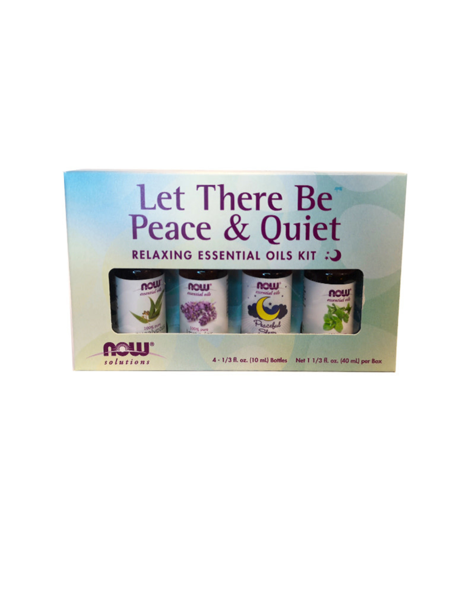 NOW Foods NOW Foods - EO Kit, Peace & Quiet (4*10ml)