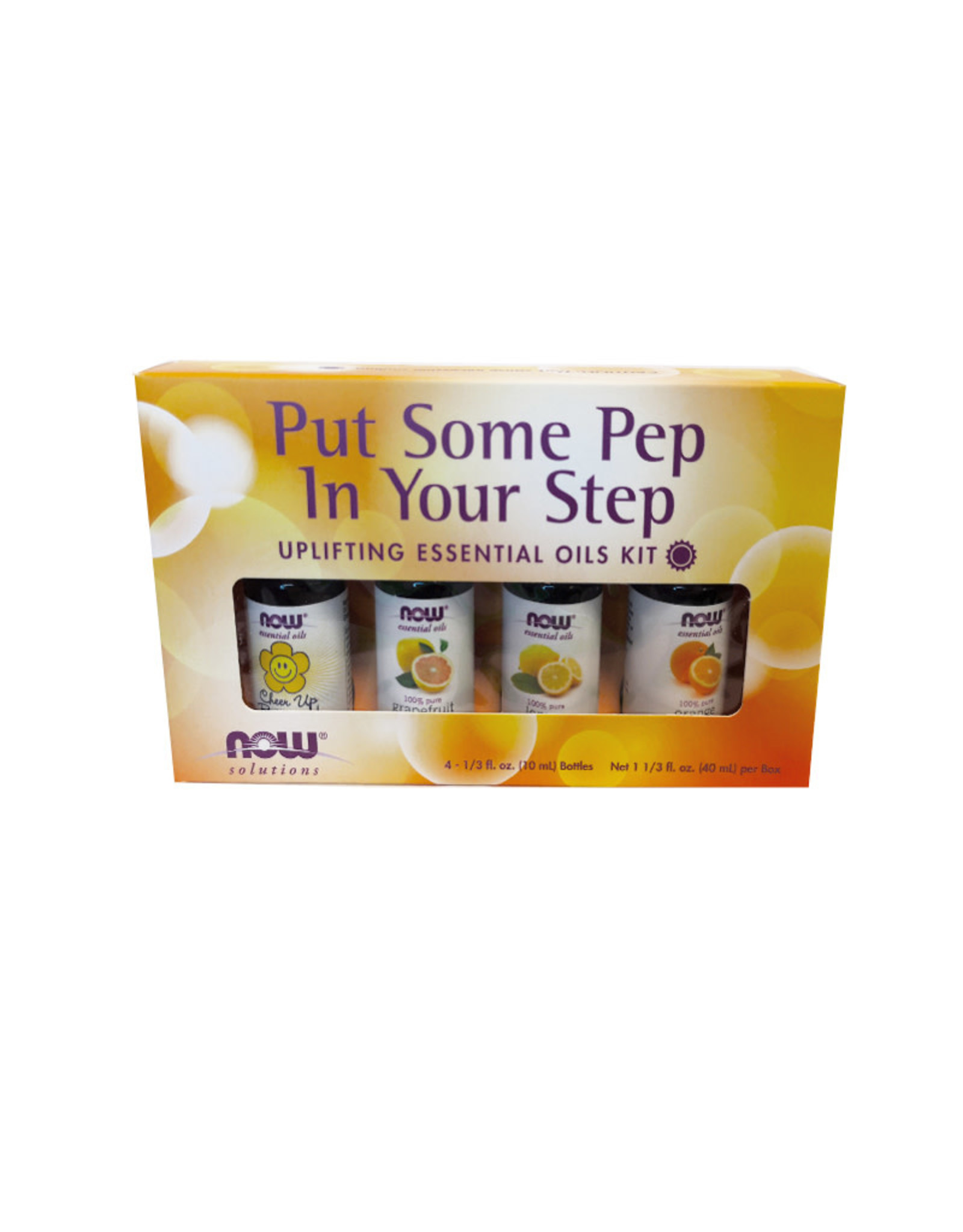 NOW Foods NOW Foods - EO Kit, Pep In Your Step (4*10ml)