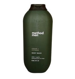 Method Method - Men's Body Wash, Cedar + Cypress  (532ml)