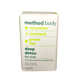 Method Method - Woman's Bar Soap, Deep Detox (170g)