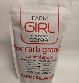 Farm Girl Farm Girl - Low Carb Granola, Caramel Apple Spice (420g)