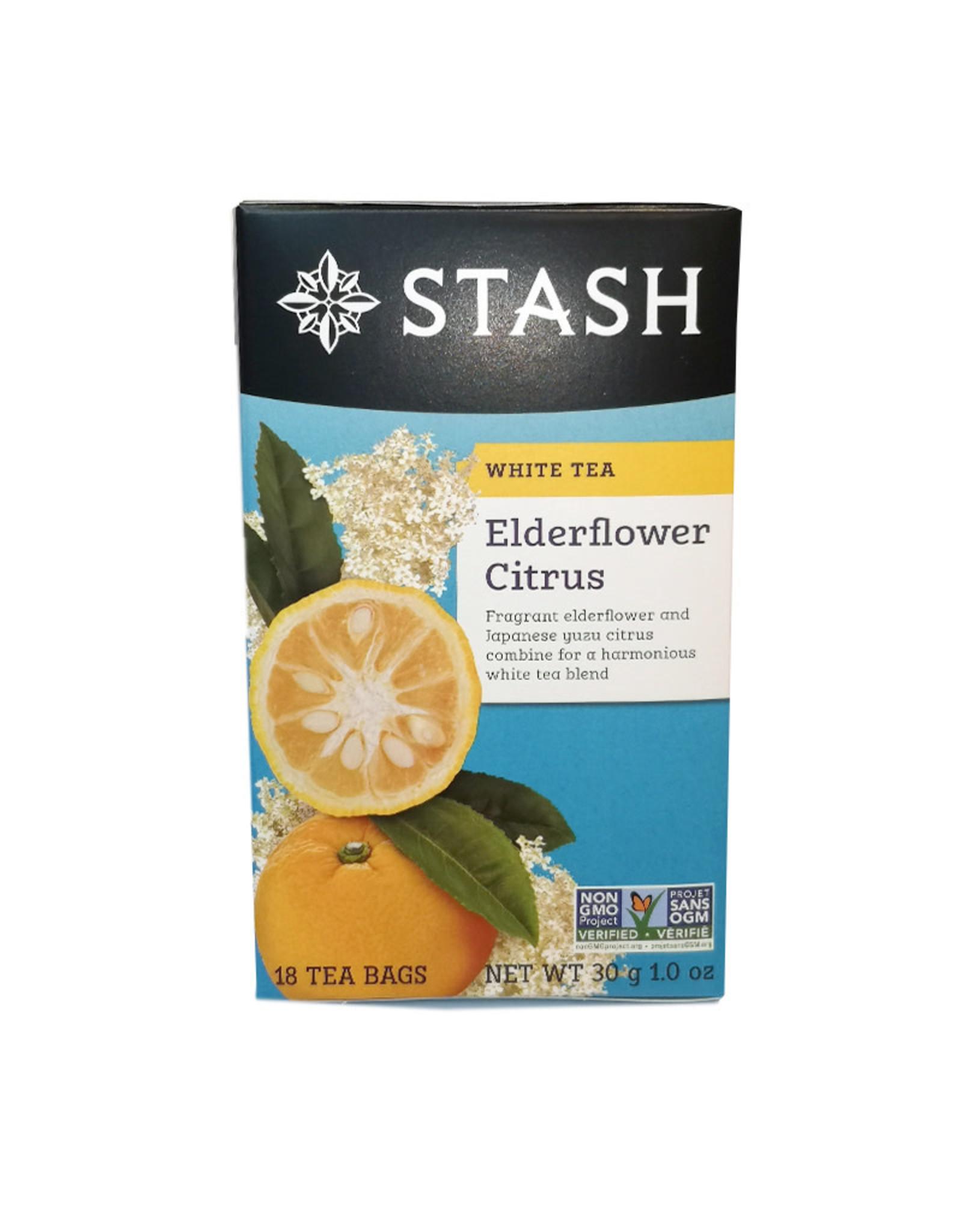 Stash Stash - Tea, Elderflower Citrus White (18bg)