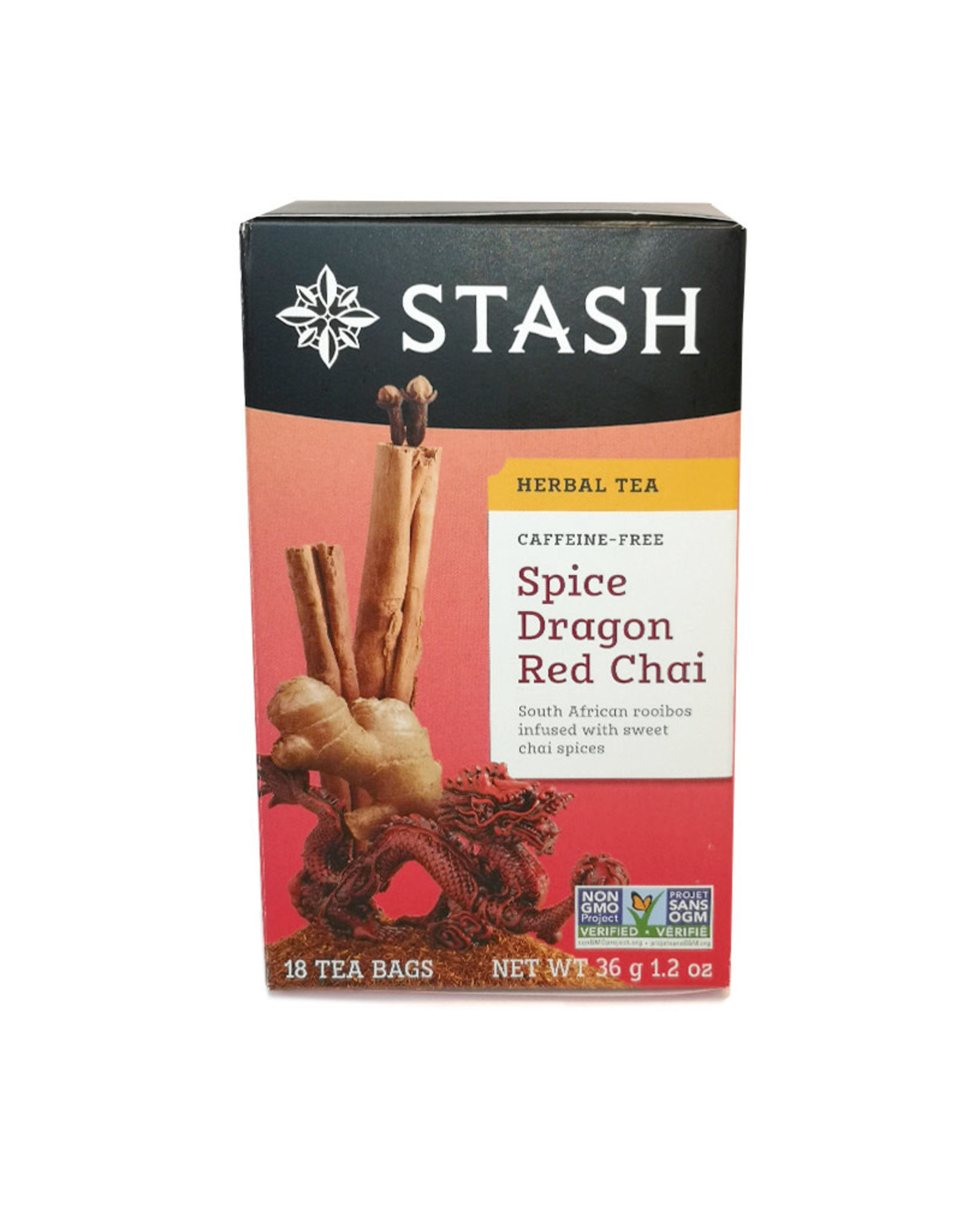 Stash Stash - Tea, Spice Dragon Red Chai (18bg)