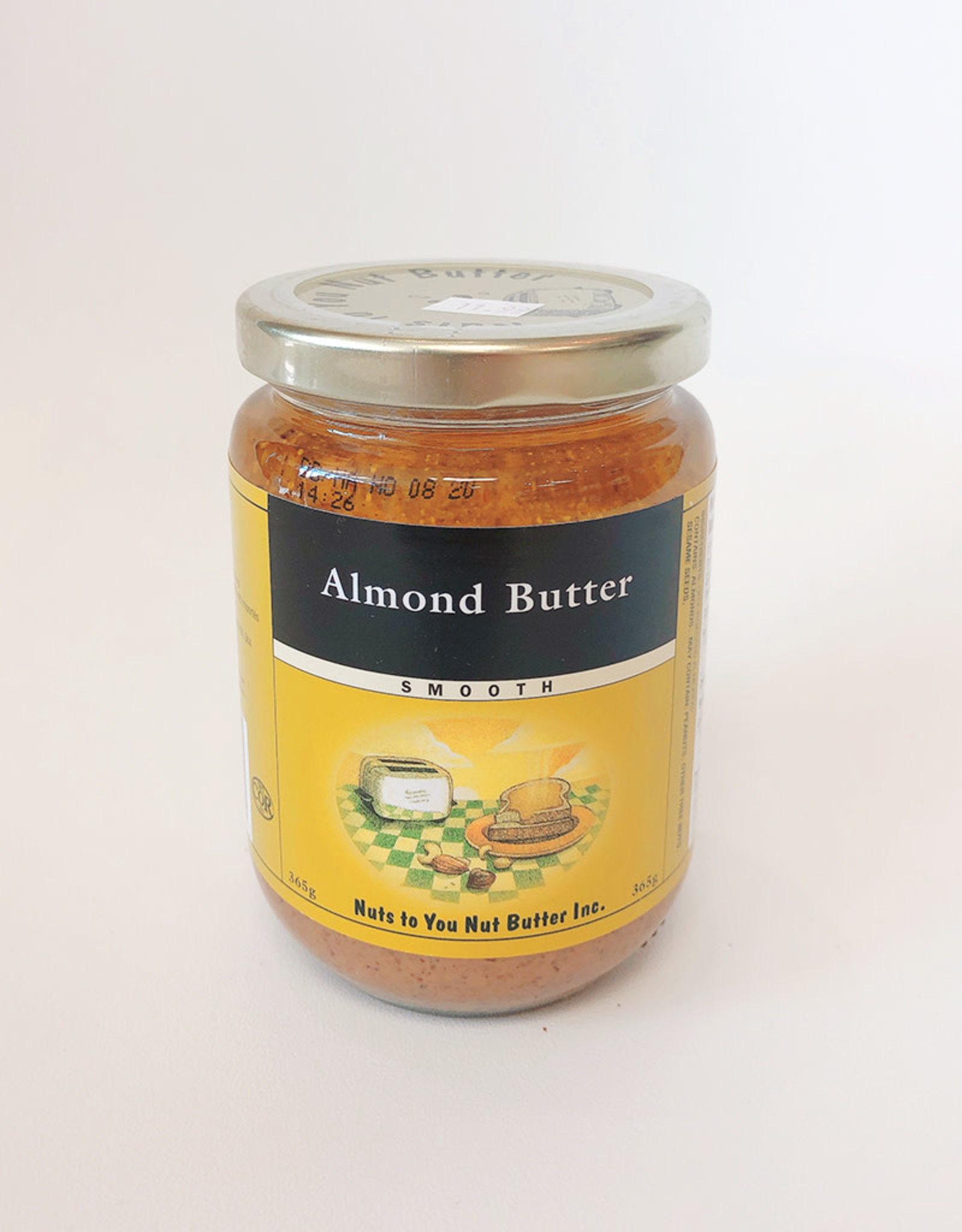 Nuts To You Nuts To You - Almond Butter Smooth (365g)