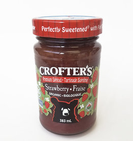 Crofters Organic Crofters Organic - Just Fruit Spread, Strawberry (383ml)