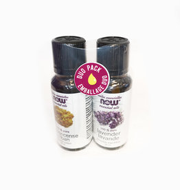 NOW Essential Oils NOW Essential Oils - Frankincense & Lavender Duopak (2*30ml)