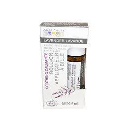 Acropolis Aura Cacia - Essential Oil Roll-On, Lavender (9.2ml)