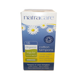 Natracare Natracare - Tampons, Regular (16ct)