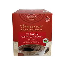 Teeccino Teeccino - Chaga Ashwagandha Mushroom Tea (10bg)