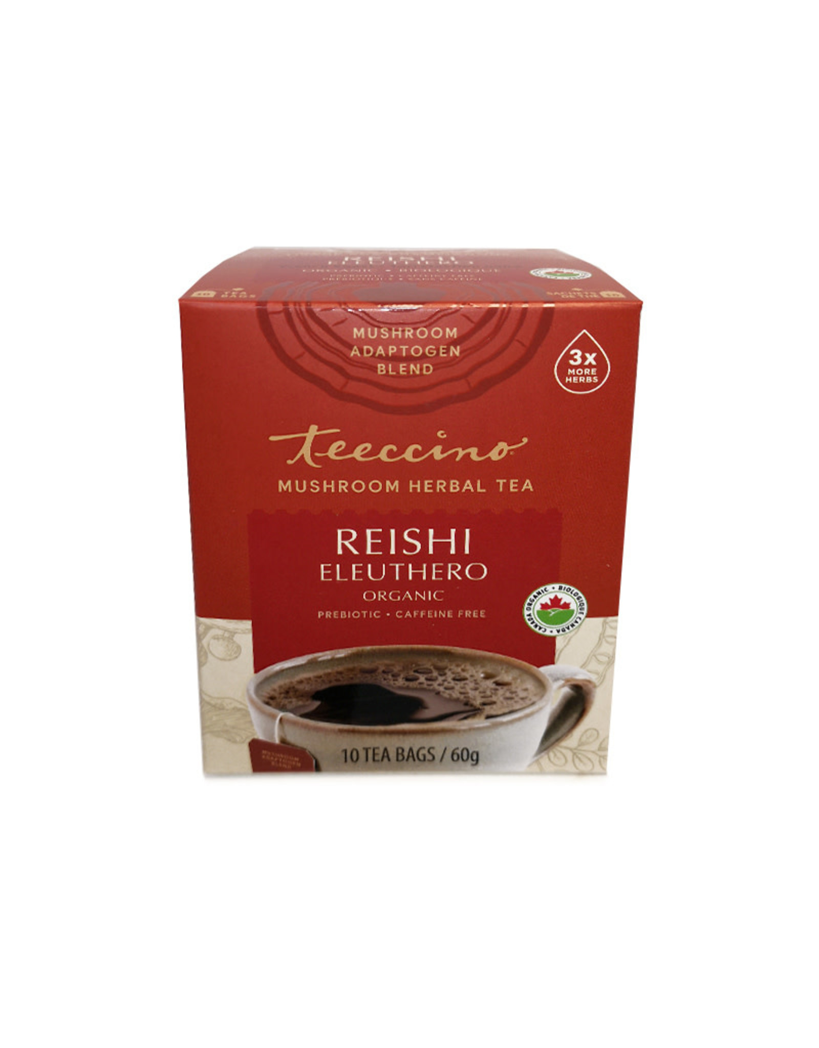 Teeccino Teeccino - Reishi Eleuthero Mushroom Tea (10bg)