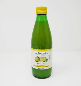 Earths Choice Earth's Choice - Organic Lemon Juice (250ml)