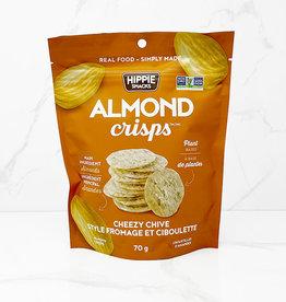 Hippie Snacks Hippie Snacks - Almond Crisps, Cheezy Chive