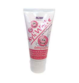 Now Solutions NOW Solutions - Xyli White Kids Toothpaste, Bubblegum Splash  (85g)