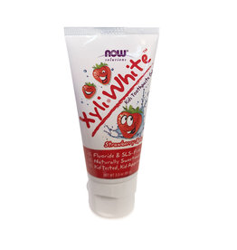 Now Solutions NOW Solutions - Xyli White Kids Toothpaste, Strawberry Splash  (85g)