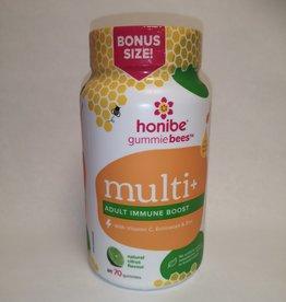 Honibe Honibe - Adult Immune Boost Gummies, Citrus (70ct)