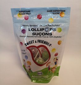 Sweet & Friendly Sweet & Friendly - Lollipops Assorted (250g)
