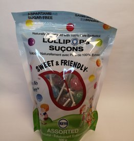 Sweet & Friendly Sweet & Friendly - Lollipops Assorted (500g)