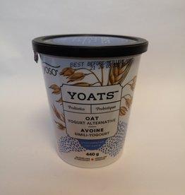 YOSO Yoso - Yoats Unsweetened Yogurt, Plain (440g)