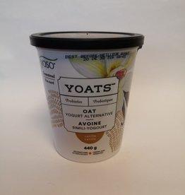 YOSO Yoso - Yoats Unsweetened Yogurt, Vanilla (440g)