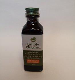 Simply Organic Simply Organic - Organic Extract, Madagascar Vanilla (59ml)