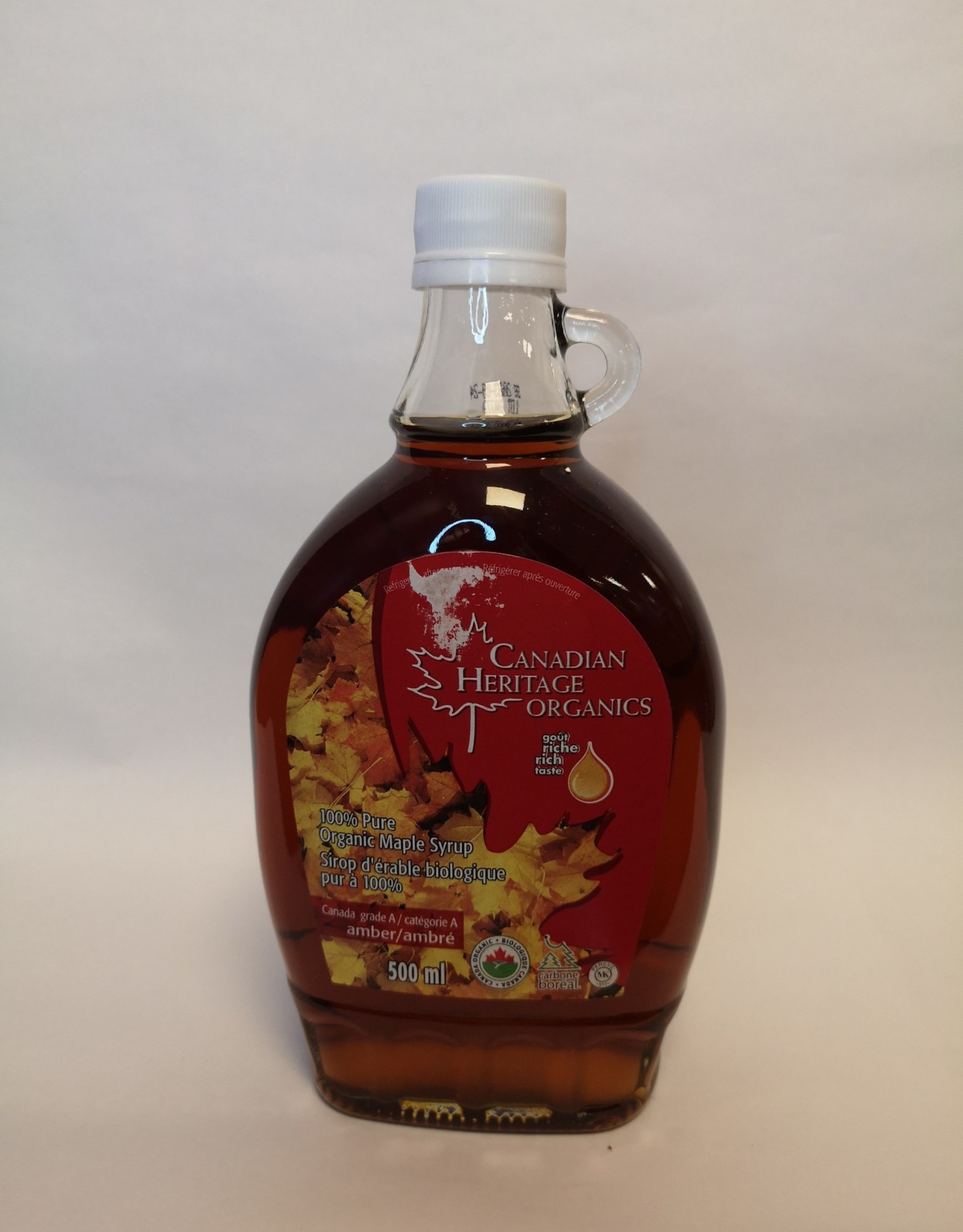 Canadian Heritage Canadian Heritage - Maple Syrup, Amber (500ml)