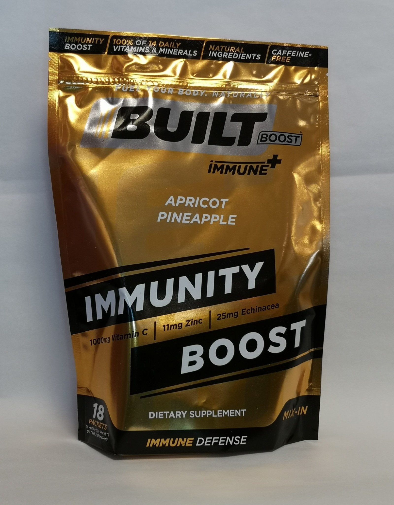 Built Bar Wholesale Built Bar - Built Boost Immune +, Apricot Pineapple  (18 Ct) - CASE