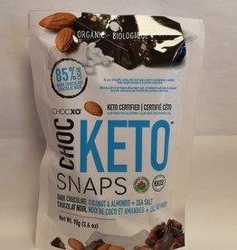 ChocXO ChocXO - Keto Snaps, Coconut, Almond & Sea Salt (98g)