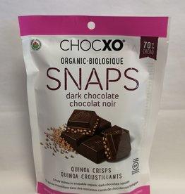 ChocXO ChocXO - Keto Snaps, 70% dark Quinoa (112g)