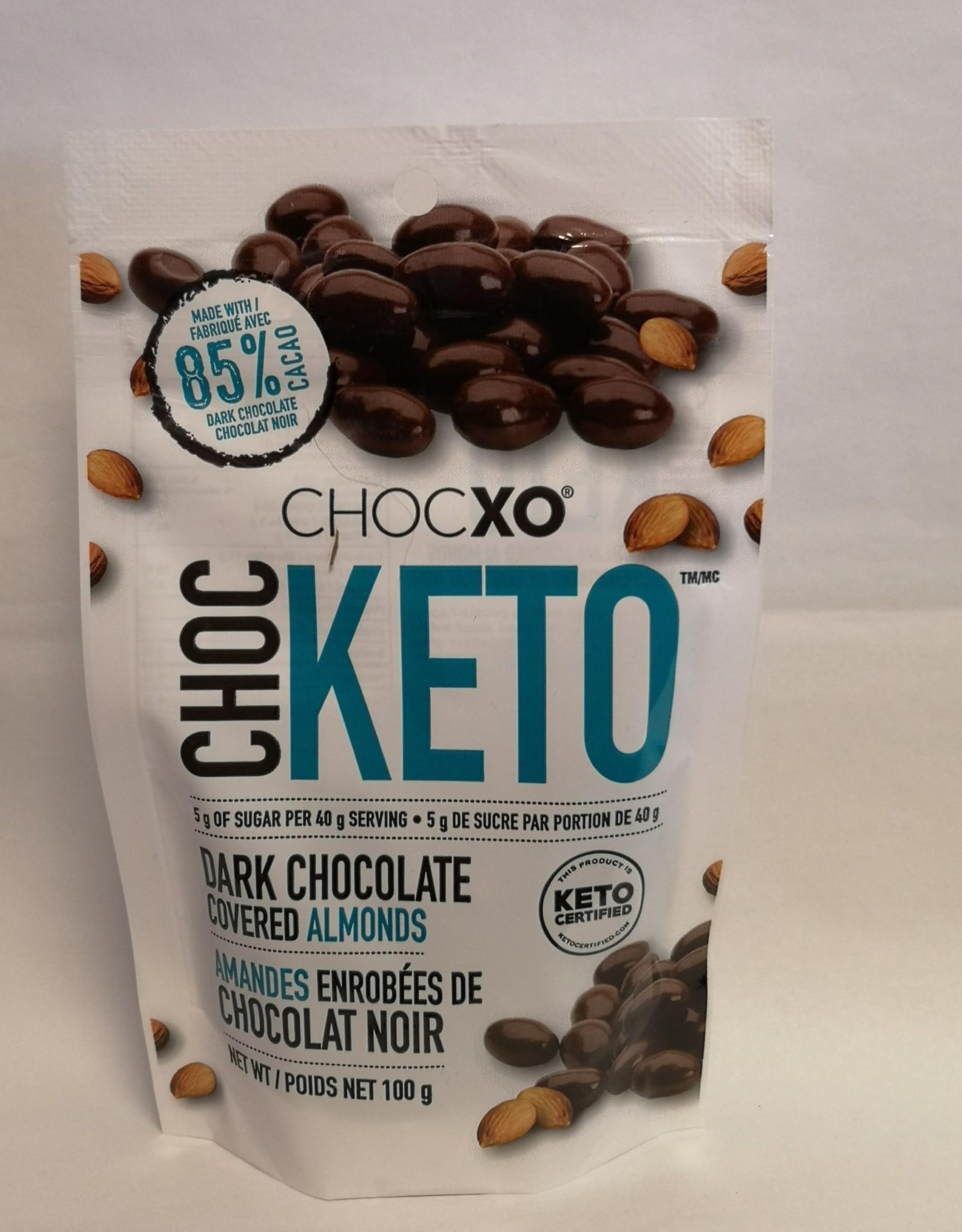 ChocXO ChocXO - Keto Dark Choc Covered Almonds (100g)