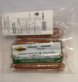 Sunworks Farm Sunworks Farm - Organic Chicken Italian Sausage