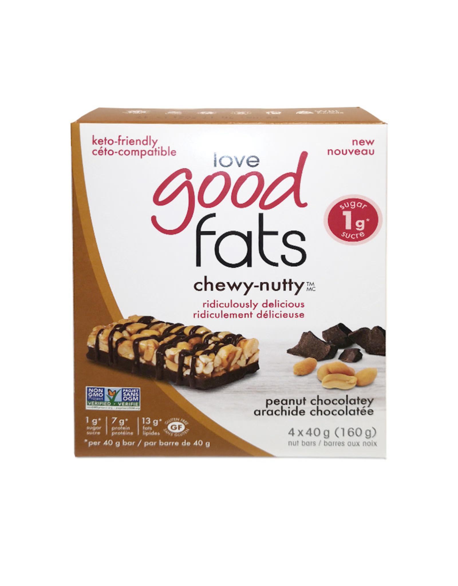 Love Good Fats Love Good Fats - Peanut Butter Chocolatey (4pk)