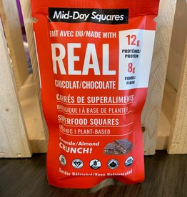 Acropolis Mid-Day Squares - Org Raw Superfood Squares, Almond Crunch