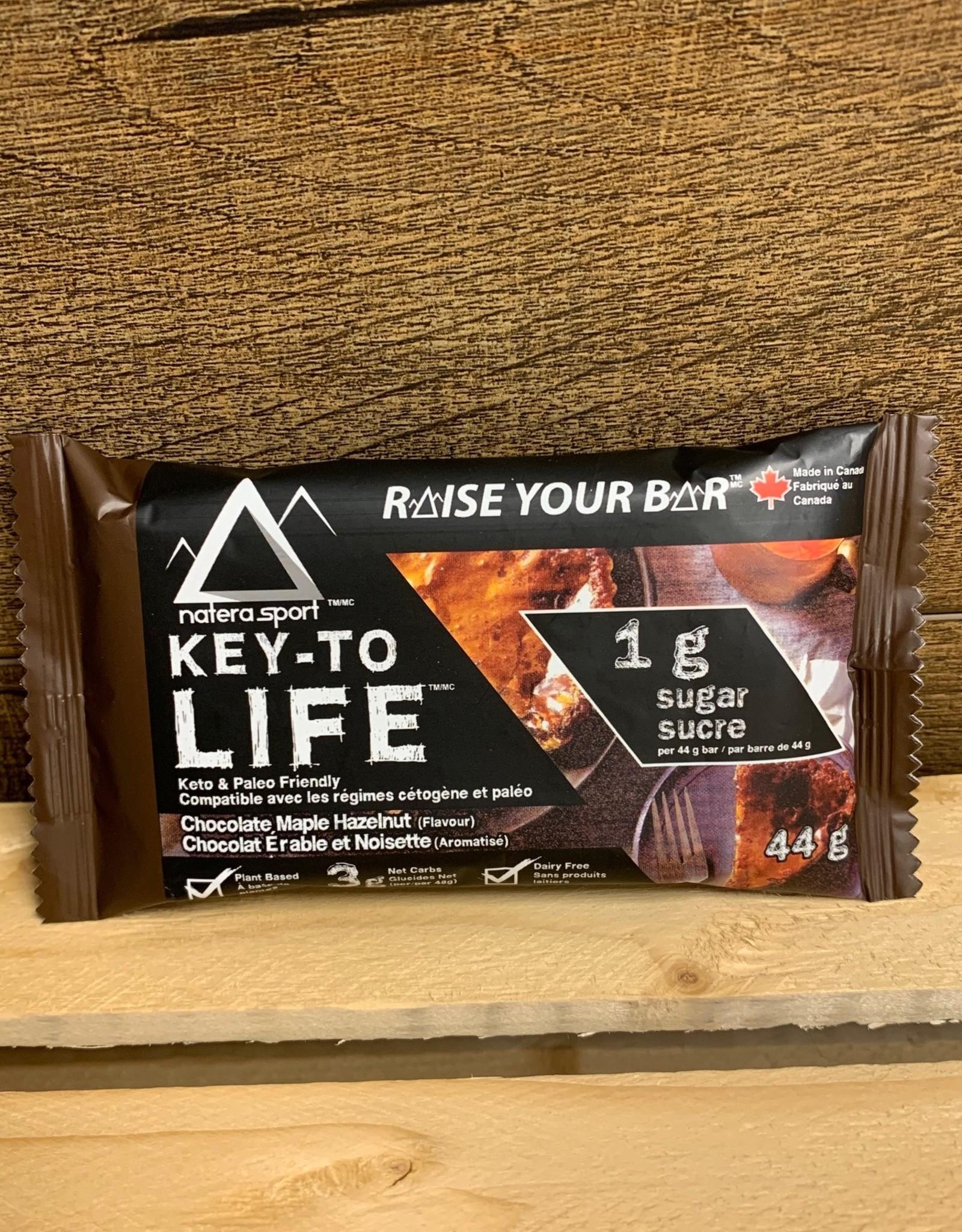 Key-To Life, Keto Bar, Chocolate Maple Hazelnut