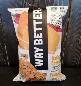 Way Better Way Better - Tortilla Chips, Nacho Cheese (156g)