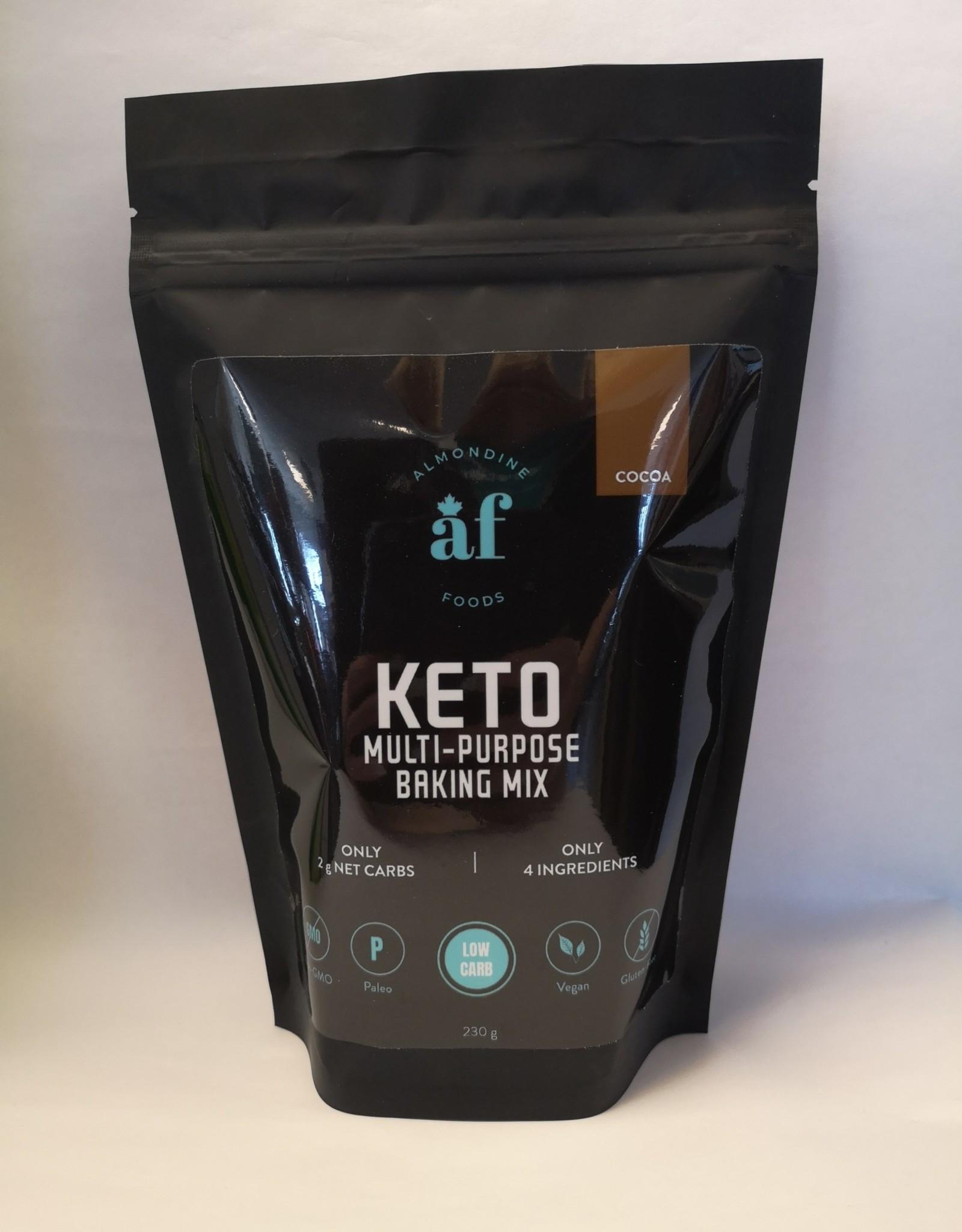 Almondine Foods - Cocoa Keto Baking Mix, (230g)
