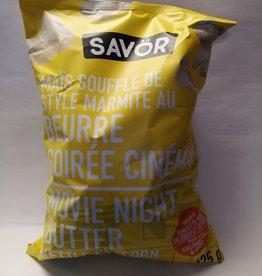 Savor Savor Kettle Popcorn - Movie Night Butter