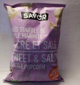 Savor Savor Kettle Popcorn - Sweet & Salty
