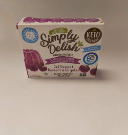 Simply Delish Simply Delish - Black Cherry Jello (20g)