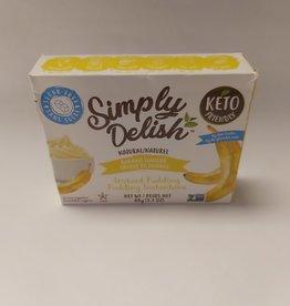 Simply Delish Simply Delish - Natural Banana Pudding (48g)