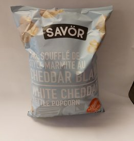 Savor Savor Kettle Popcorn - White Cheddar