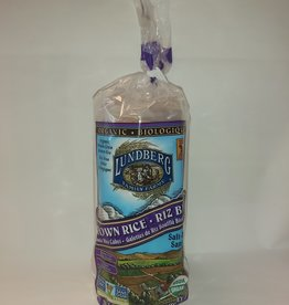 Lundberg Lundberg - Organic Rice Cakes, Brown Rice (6/241g)