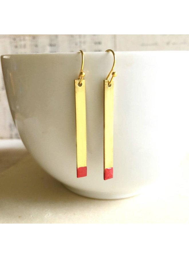 """A Perfect Match"" Earrings"