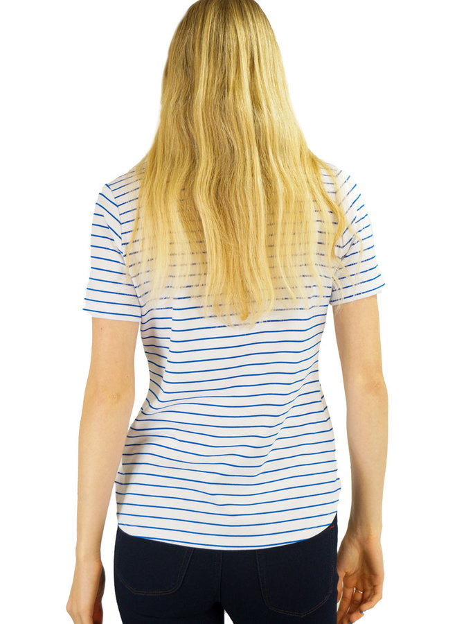 Renuar's Terrific Tee In Ibiza Stripe